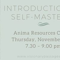 Introduction to Self-Mastery (Free)