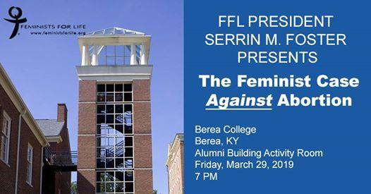 FFLs Serrin Foster to speak at Berea College