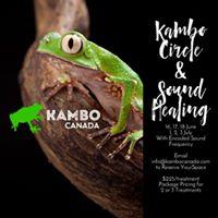 June Kambo Circles and Sound Healing