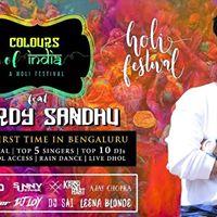 Holi with Harrdy Sandhu