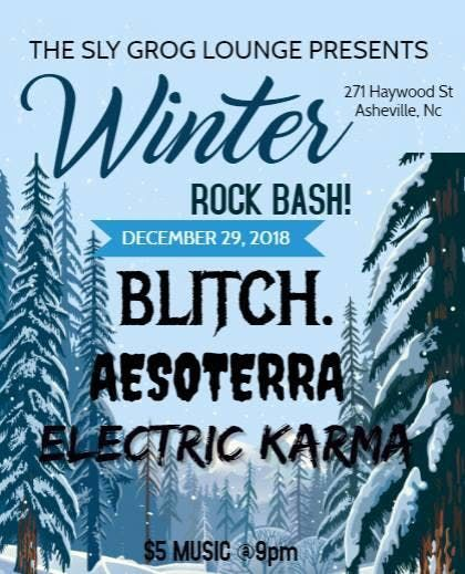 Winter Rock Bash with Blitch soterra Electric Karma