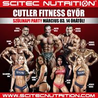 Cutler Fitness Gyr 1. szlinapi party