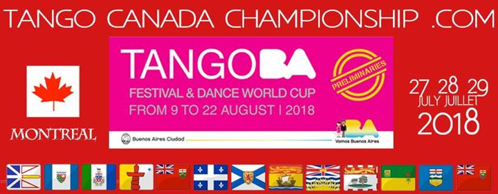 Montreal the official championship of Argentine Tango in Canada
