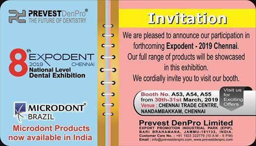 Expodent Chennai 2019