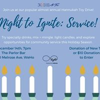 A Night to Ignite Service - A Toy Drive