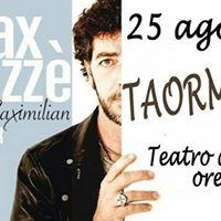 Concerto di Max Gazz Taormina