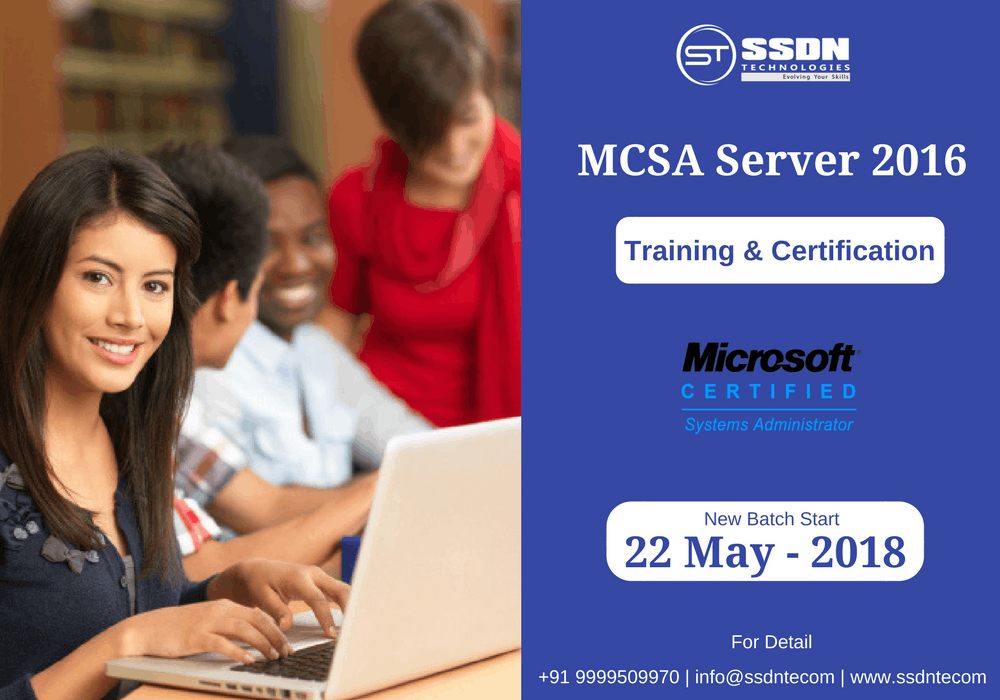 Mcsa Course India Mcsa Certification Training Ssdn Technologies