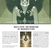 Graphic Novel Book Club The Interview by Manuele Fior