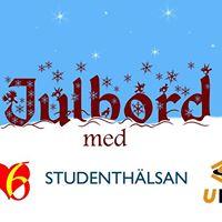 Julbord med Hjrter6 Studenthlsan och UFO