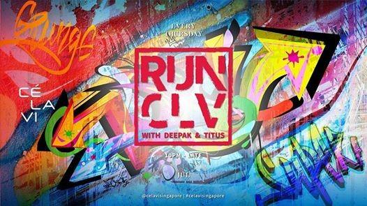 RUN CLV with Deepak & Titus [Every Thursday]