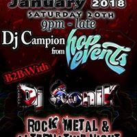 SoniKCampion Rock Metal &amp Alternative B2B Dj set.