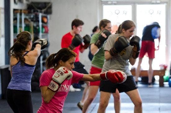 Boxing and Conditioning Class