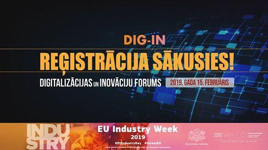 Digitalizcijas un inovciju forums DIG - IN