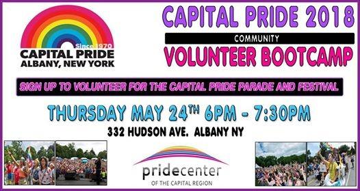 Capital PRIDE Volunteer Bootcamp