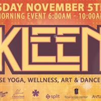 KLEEN  Sunrise Yoga Wellness Art &amp Dance Party at Penn Social  DC