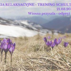 Zajcia relaksacyjne - trening Schultza