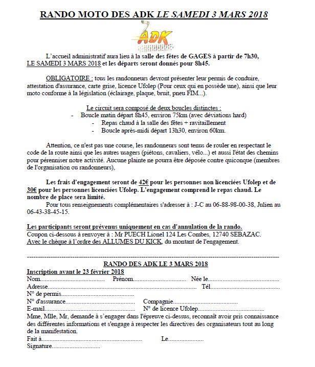 carte grise et assurance nom différent Randonnée des ADK 2018 at Lieu dit Gages le Haut, 12630 Montrozier