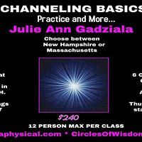 Channeling Basics Practice and More- A 12 person group forms