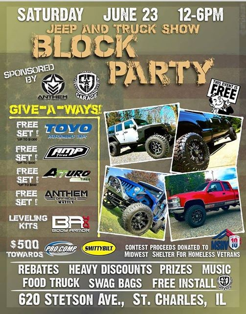 Jeep And Truck Show Block Party