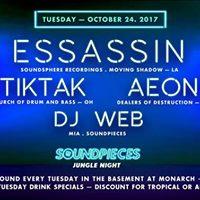 E-Sassin TikTak Aeon DJ Web