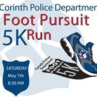 Corinth PD Foot Pursuit 5K &amp 1M Fun Run