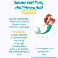 Dream Birthdays Presents Princess Ariels Family Pool Party