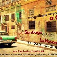 Voyage  Cuba Janvier 2018