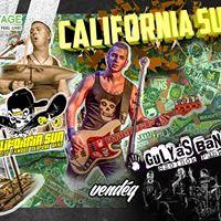 California Sun  Gulys Band Koncert