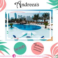 Free pool access at Andreaas Tuesday with Beauty Soultions