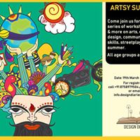 Artsy Summers - Workshops  Talks &amp more