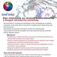 Soul Voice 2 daagse Workshop