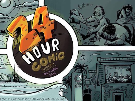 24 Stunden Comic Tag