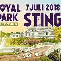 Sting op Royal Park Live - uitverkocht