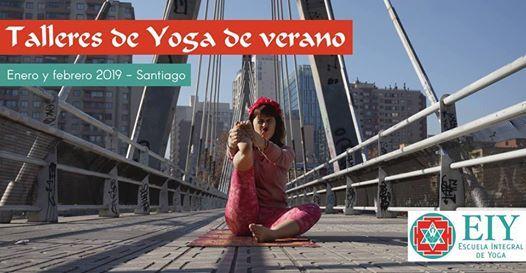Talleres de Yoga en verano para Instructores de Yoga at Escuela ... a228cb6d9bc3