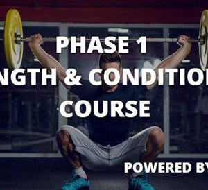 EPI Phase 1 Strength &amp Conditioning Course