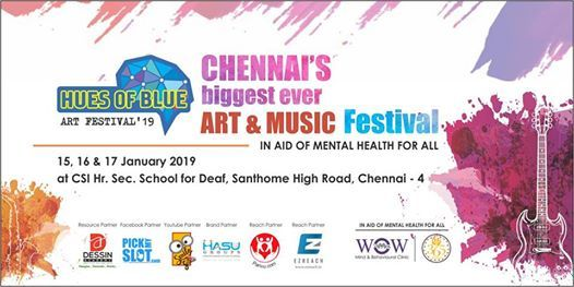 Hues of Blue - Art Literature & Music Festival