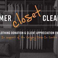 Summer Closet Cleanout &amp Client Appreciation Party