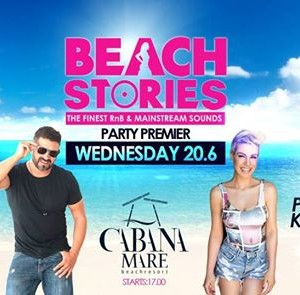 Beach Stories Premiere with Andreasondecks &amp Rania Kostaki