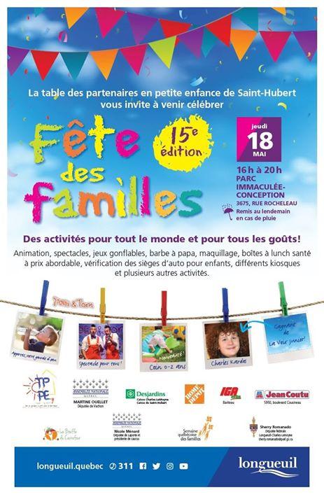 Fte des familles de Saint-Hubert 2017