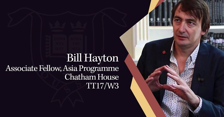Image result for bill hayton of london's chatham house