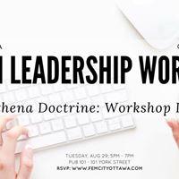 FemCity Ottawa The Athena Doctrine Workshop