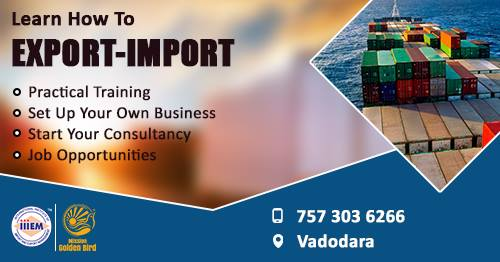 Start and Set up Your Own Import and Export Business At Vadodara