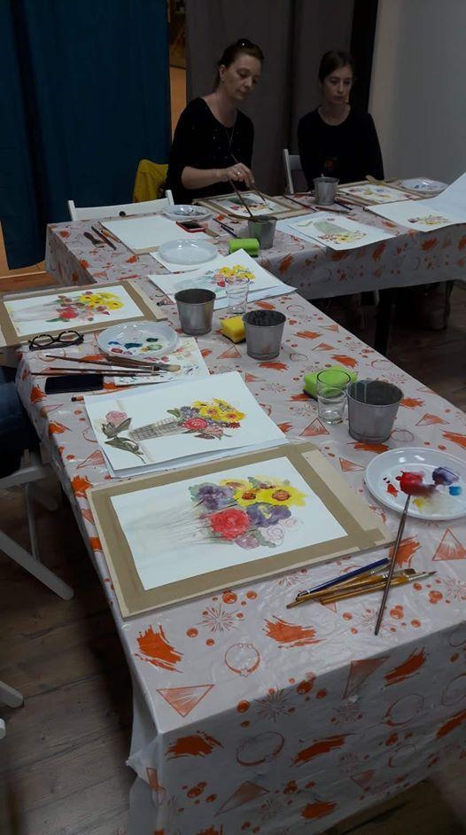 Aqvarell workshop