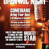 Open Mic Night Hosted by Flying Brian from 1055theBeat