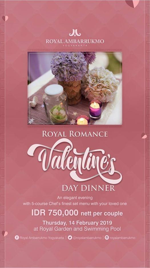 Royal Romance Valentines Day Dinner