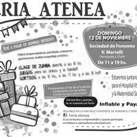 Feria Atenea Artesanos Y Emprendedores Y Mucho Mas.
