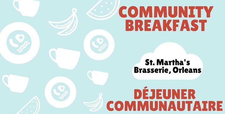 Community Breakfast in Orlans - Djeuner communautaire