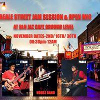Beale Street Jam Session &amp Open Mic at Blu Jaz Cafe