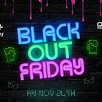 Black Out Friday Glow Party 18