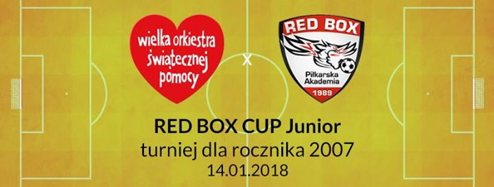 RED BOX CUP Junior - gramy dla WOP